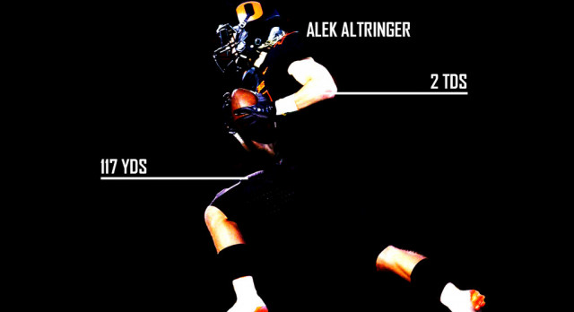 Altringer Makes Huge Impact vs McMinnville