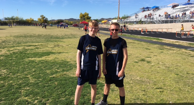 Lincoln HS Track Competes in First Meet