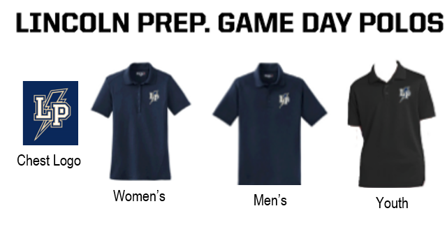 Lincoln Athletics – Game Day Polo