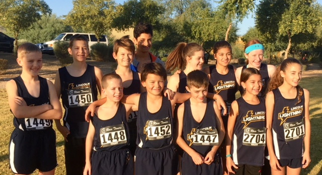 MS Cross Country Finishes Season at GHMSL Championship