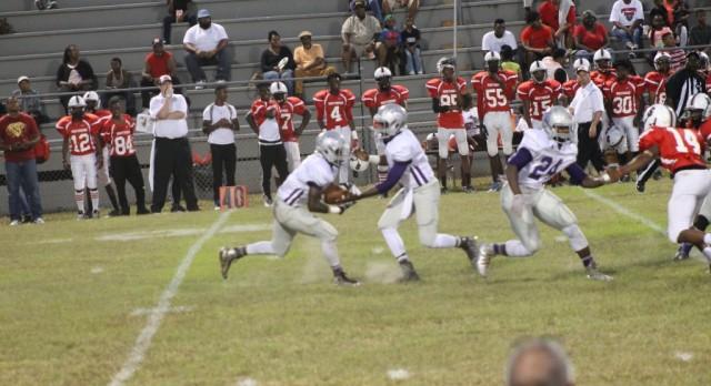 Pike County High School Varsity Football beat Southside High School 49-6