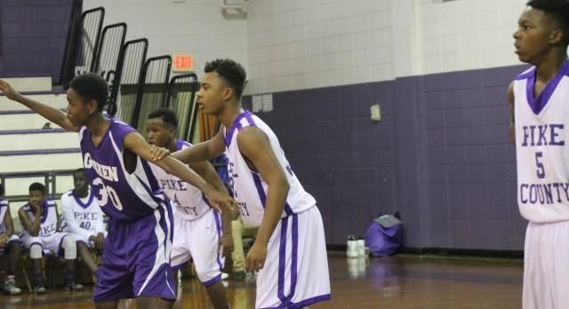 Pike County High School Boys Junior Varsity Basketball beat Goshen High School 35-11