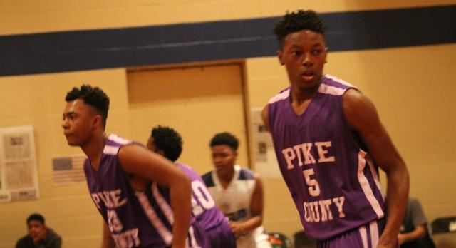 Pike County High School Boys Junior Varsity Basketball beat Barbour County High School 36-26