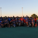 Miracle League Team with PCHS Softball & Baseball Buddies