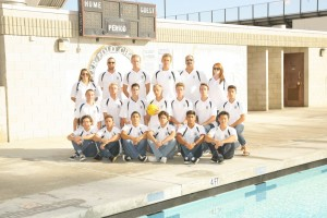 2015 Boys Water Polo Team