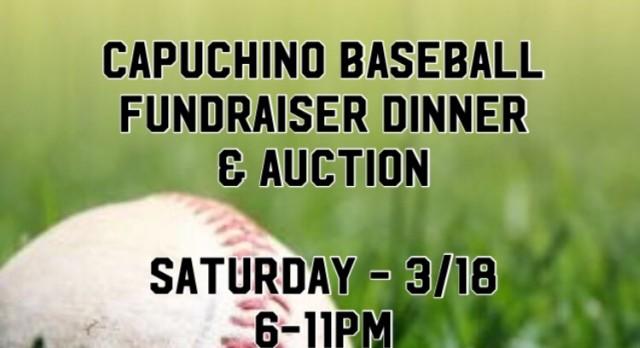 Capuchino Baseball Fundraiser Dinner