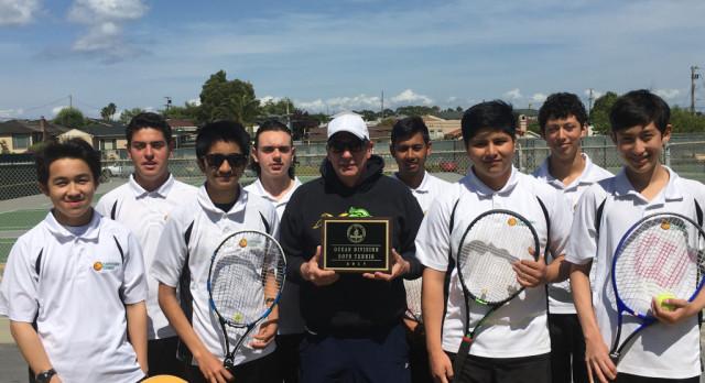 Cap Boys Tennis Win's PAL Ocean Division Title
