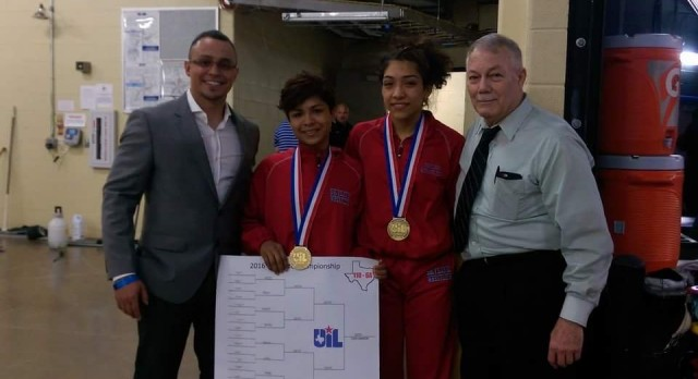 Wrestling Lady Raiders State Placers