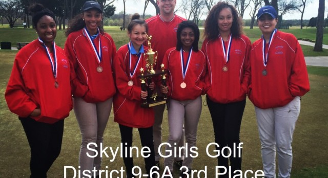Ladies Golf Places 3rd in 9-6A District Tournament