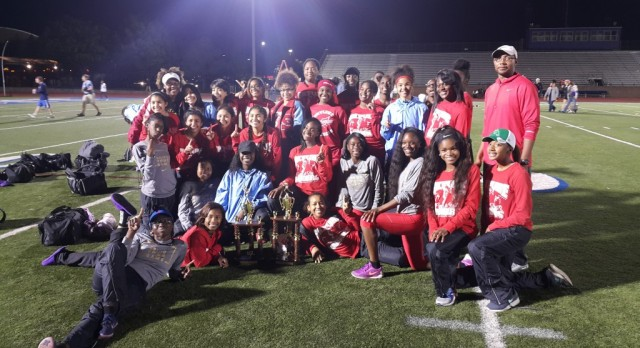Girls Track and Field 9-6A Champions