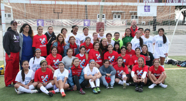 2nd Annual Soccer Alumni Game