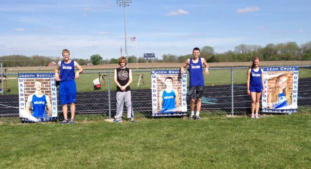 Waldron High School Boys Varsity Track finishes 1st place