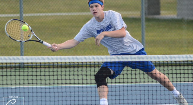 Waldron High School Boys Varsity Tennis falls to Greensburg High School 4-1