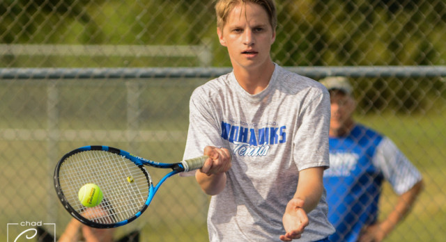 Waldron High School Boys Varsity Tennis falls to Lutheran High School 4-1