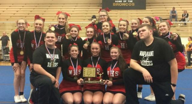 Raider Cheer Wins MEC Championship