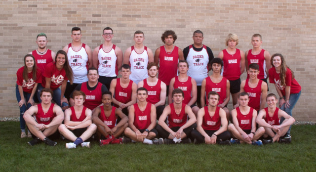 Boys Track 5th at Sectional