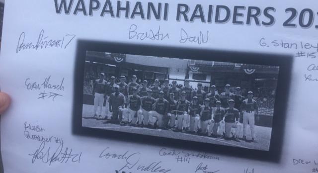 Raider Baseball Pep Rally at Selma Little League