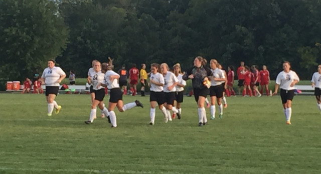 Girls Soccer Win their 2nd; Dornick adds 4 more goals!
