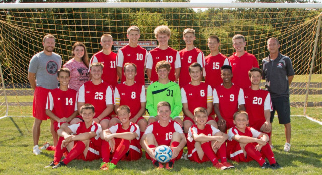 Boys Soccer End Season at Knightstown
