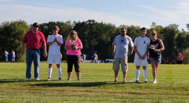 2017 Boys Soccer Senior Night