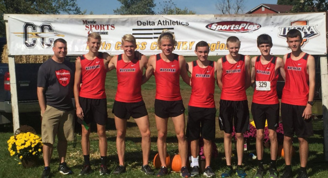 Wapahani Boys XC 5th Overall; Advance to Semi-State