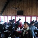 TITANS GETTING FUELED UP FOR REGIONAL FINALS…GO TITANS!! THANKS TO RIB BONES FOR THE B'FAST