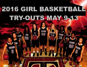 BASKETBALL GIRL TRYOUT COVER