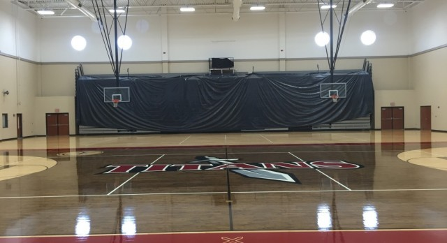 TITAN GYMNASIUM GETS A NEW LOOK