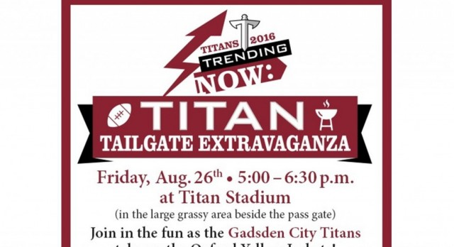 2nd ANNUAL TAILGATE EXTRAVAGANZA THIS FRIDAY