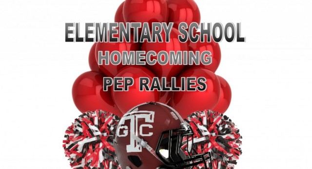 "The Titans are ""taking over"" the Elementary Schools this week for HOMECOMING!"