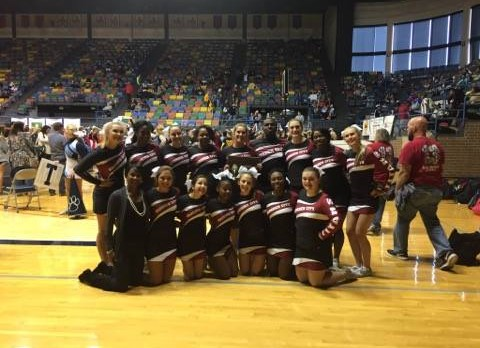 Titan Competition Cheer wins 1st runner-up at State