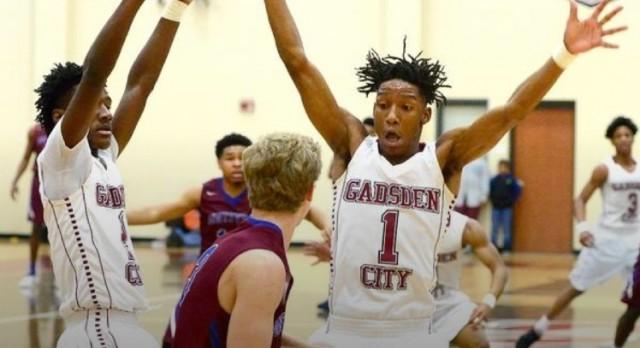 Gadsden City boys get 90-77 win over Huntsville