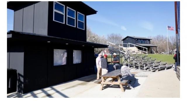 Gadsden City Softball field gets a facelift