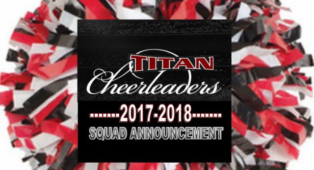 2017-18 Cheerleaders Announced