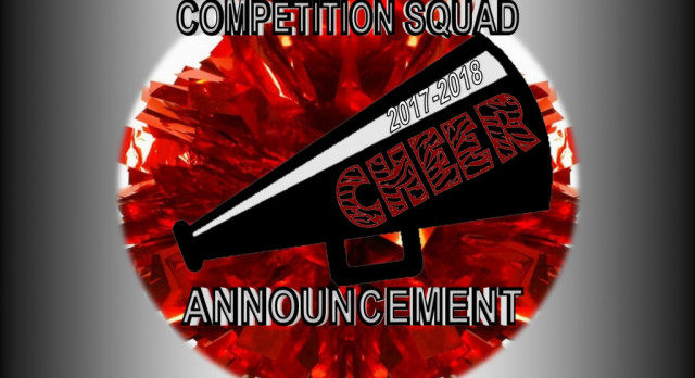 2017-18 COMPETITION CHEER SQUAD ANNOUNCED