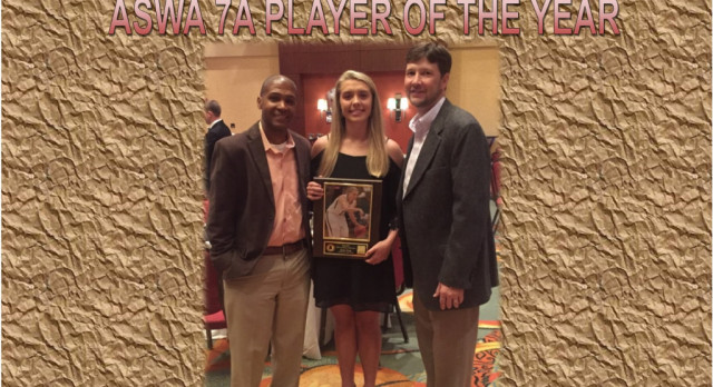 IT'S OFFICIAL~ HALEY TROUP WINS ASWA 7A PLAYER OF THE YEAR