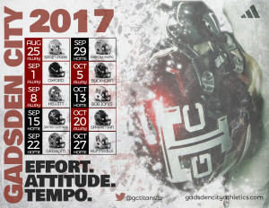 2017 Schedule Poster