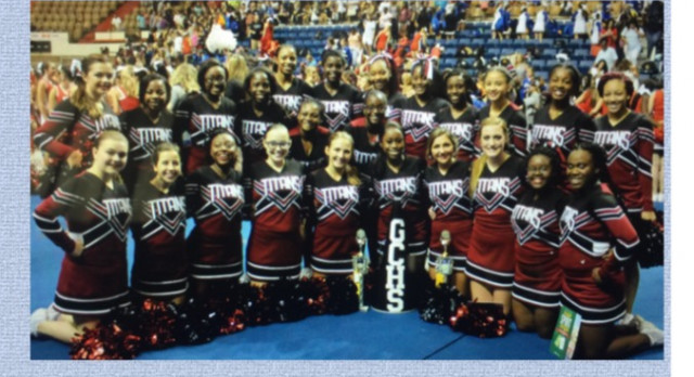 CONGRATULATIONS TO THE TITAN SIDELINE CHEER TEAM
