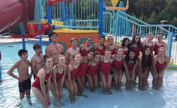 Titan Swimmers did well at first meet