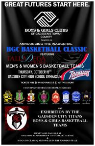 BGC Basketball Classic Poster