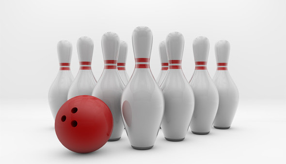 bowling-pins-and-ball-light-background