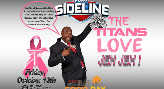 The Titans, Jeh Jeh Pruett & Good Day Alabama… all together!