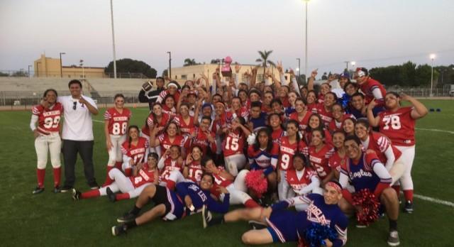 Seniors Victorious Over Juniors at Powderpuff