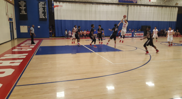 Boys Basketball Fights Hard vs. Artesia