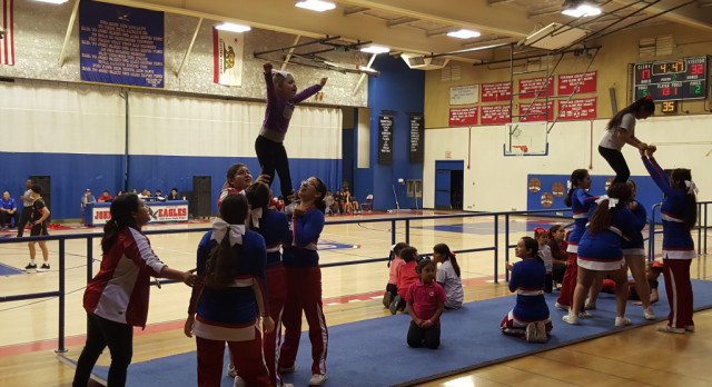 Cheer Clinic Huge Success