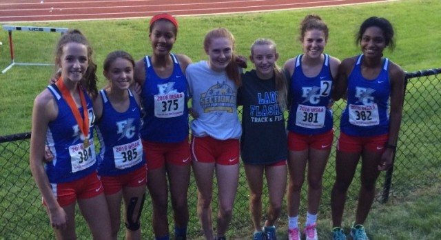 Lady Flashes Track at State Championships
