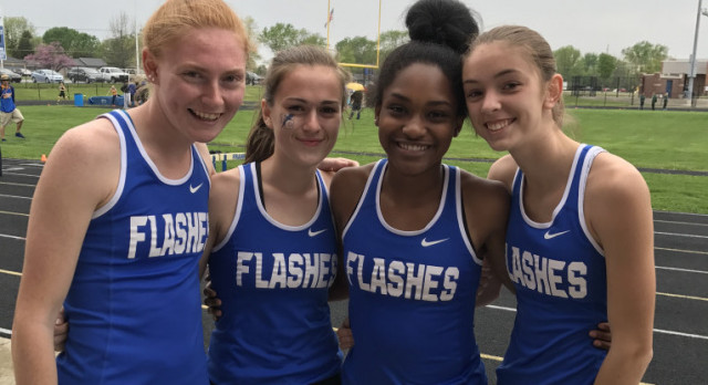 COED Flashes 2nd in Lightning Bolt Relays