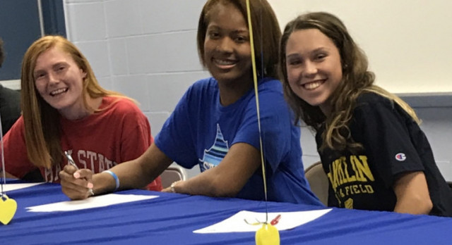 Hoover, Bell, and Walker Sign