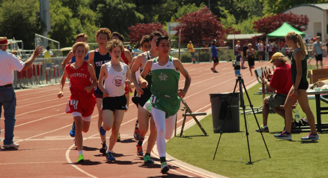 Calistoga Track & Field At North Coast Section Championships