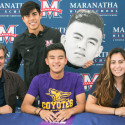 Boys Soccer – Signing Day 2017